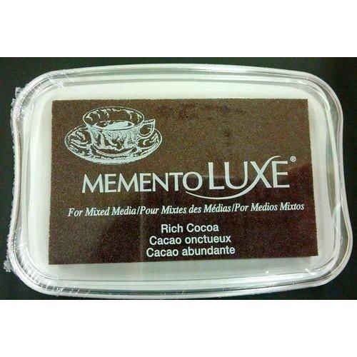ML-000-800 - Memento Luxe Inkpad-Rich Cocoa