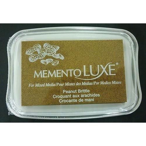 ML-000-802 - Memento Luxe Inkpad-Peanut Brittle