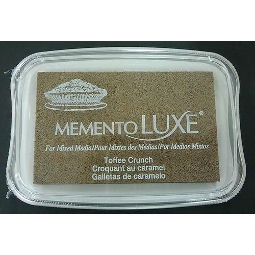 ML-000-805 - Memento Luxe Inkpad-Toffee Crunch