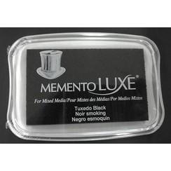 ML-000-900 - Memento Luxe Inkpad-Tuxedo Black