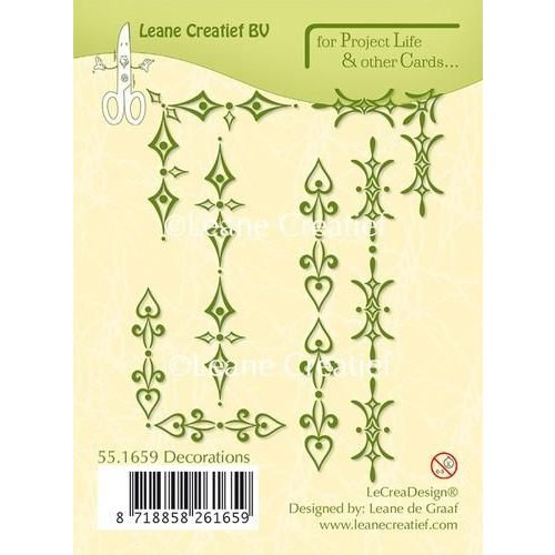 55.1659 - Project Life & Cards clear stamp Decorations