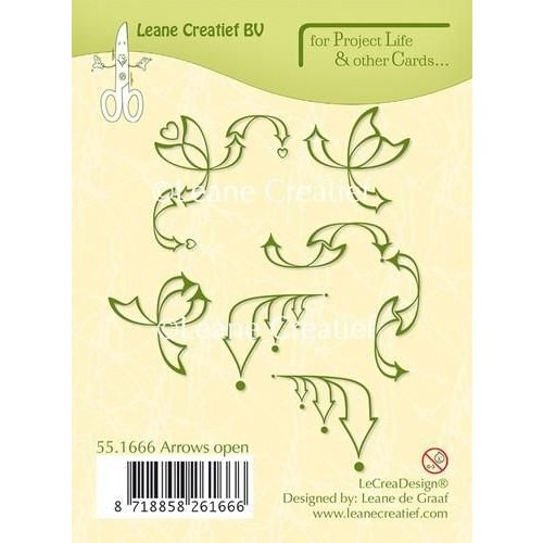 55.1666 - Project Life & Cards clear stamp Arrows open