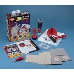 L5PKR - Essdee Lino cutting & Printing set (24x21x8cm)