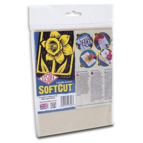 3.0/SC3-2 - Essdee SoftCut sheet - 2 vel  200x150x3,0mm
