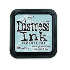 TIM20257 - Ranger Distress Inks pad - weathered wood stamp pad 257 Tim Holtz