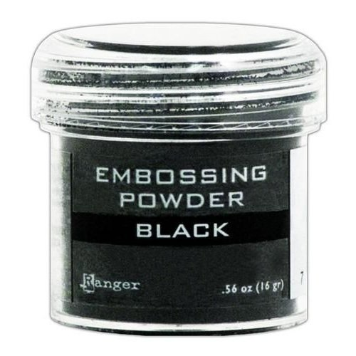 EPJ37347 - Ranger Embossing Powder 34ml - black 347