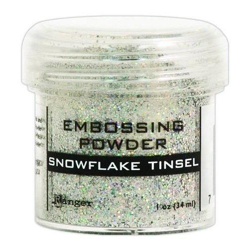 EPJ37453 - Ranger Embossing Powder 34ml - snowflake tinsel 453