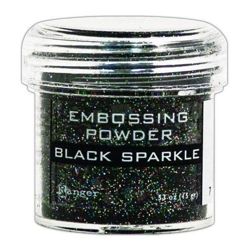 EPJ37460 - Ranger Embossing Powder 34ml - black sparkle 460