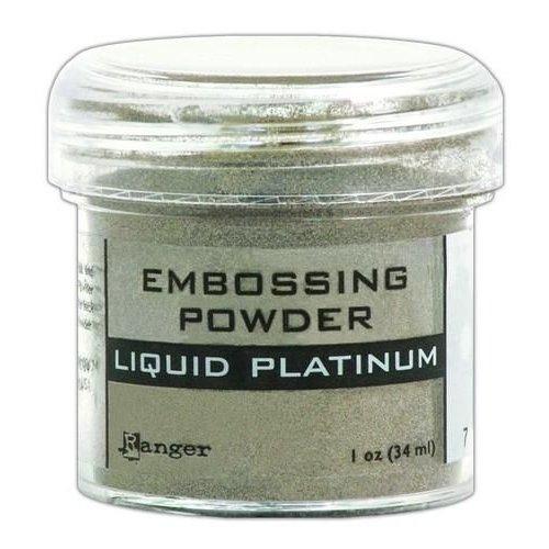 EPJ37484 - Ranger Embossing Powder 34ml - liquid platinum 484