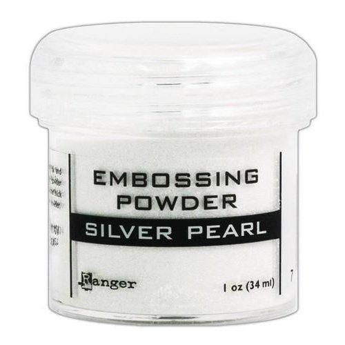 EPJ37514 - Ranger Embossing Powder 34ml - silver pearl 514