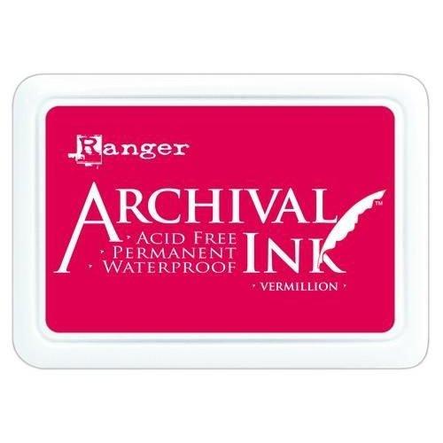 AIP30461 - Ranger Archival Ink pad - vermillion 461