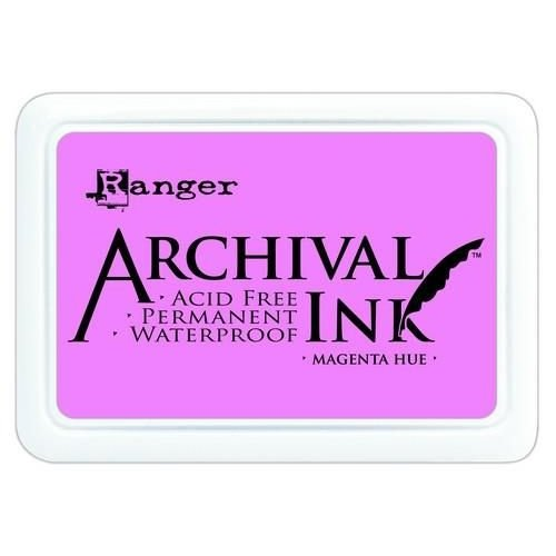 AIP30614 - Ranger Archival Ink pad - magenta hue 614