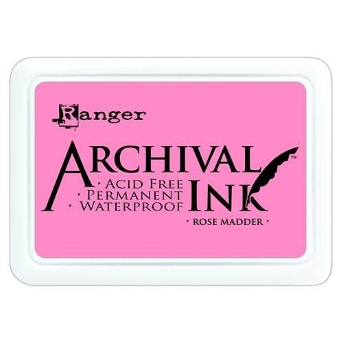 AIP30638 - Ranger Archival Ink pad - rose madder 638
