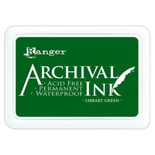 AIP31475 - Ranger Archival Ink pad - library green 475