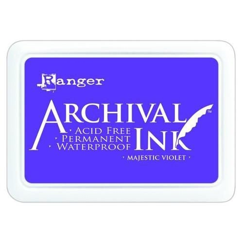 AIP52494 - Ranger Archival Ink pad - majestic violet 494