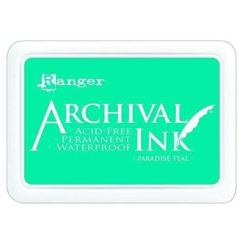 AIP52500 - Ranger Archival Ink pad - paradise teal 500
