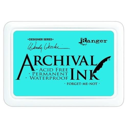 AID41412 - Ranger Archival Ink pad - forget me not 412 Wendy Vecchi