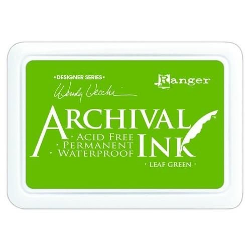 AID41436 - Ranger Archival Ink pad - leaf green 436 Wendy Vecchi