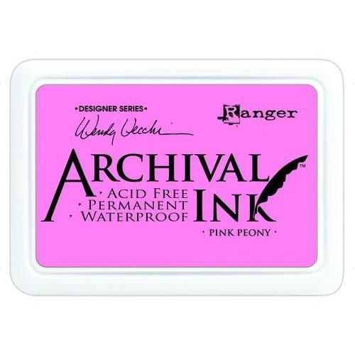 AID45649 - Ranger Archival Ink pad - pink peony 649 Wendy Vecchi