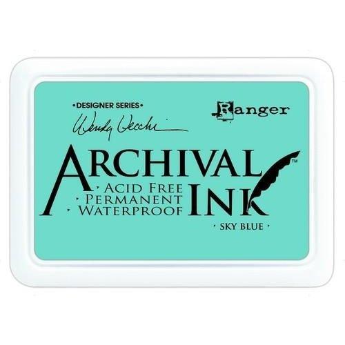 AID45656 - Ranger Archival Ink pad - sky blue 656 Wendy Vecchi