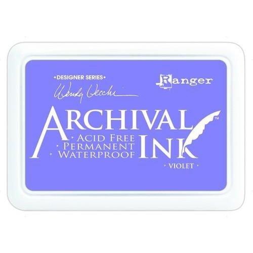 AID45687 - Ranger Archival Ink pad - violet 687 Wendy Vecchi