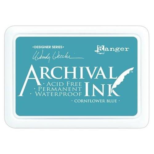 AID38955 - Ranger Archival Ink pad - cornflower blue 955 Wendy Vecchi