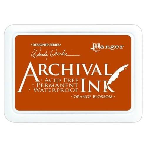 AID38986 - Ranger Archival Ink pad - orange blossom 986 Wendy Vecchi