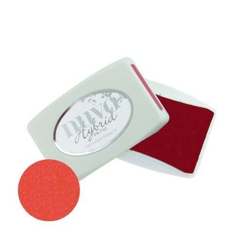214N - Nuvo ink pads - poppy red
