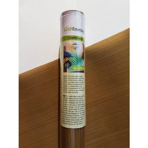 CraftEmotions 210.001.002 CE - CraftEmotions adhesive craftsheet 40x50cm