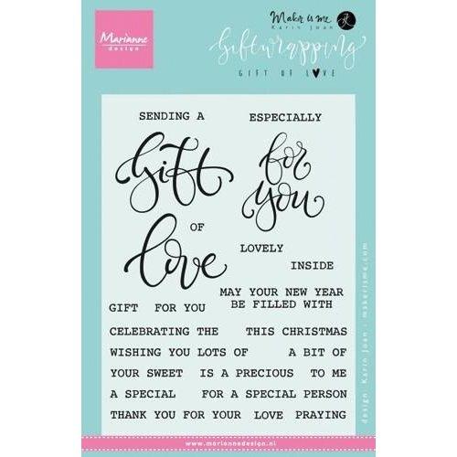 KJ1718 - Stempel Giftwrapping Gift of love (EN) 8