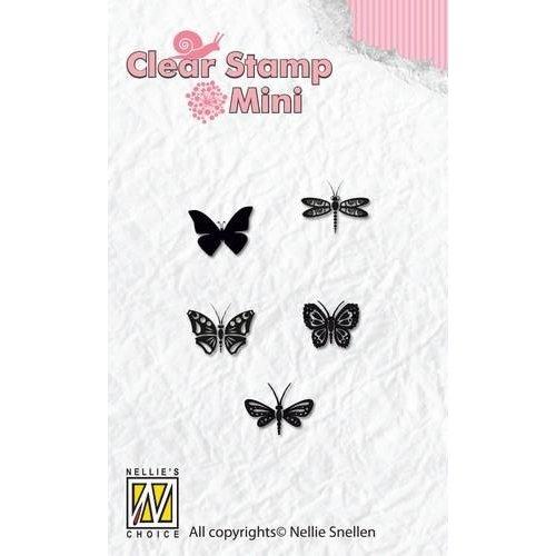 MAFS001 - Mini clear stamps Butterflies
