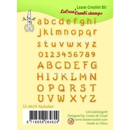 55.4629 - Clear stamp Alphabet & numbers