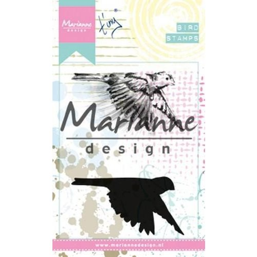 MM1618 - Clear Stamps Tiny's birds 1