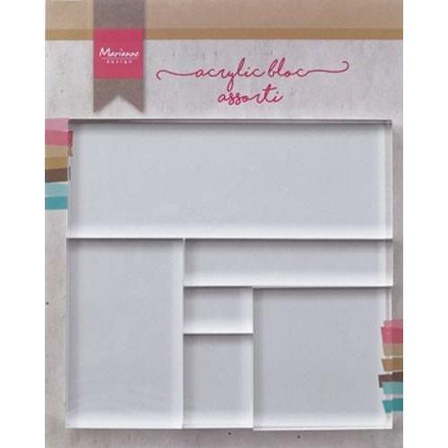 LR0013 - Tools Acrylic stamp bloc set 6 stuks 3