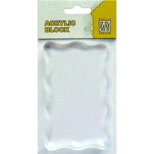 AB005 - Acrylic bloc 50x80x8mm