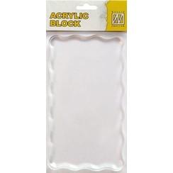 AB008 - Acrylic bloc 160x90x8mm