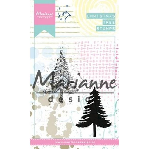 MM1625 - Cling Stamps Tiny's Christmas tree