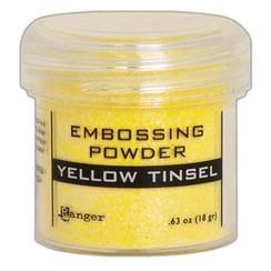 EPJ64596 - Ranger Embossing Powder 34ml -  Yellow Tinsel 596