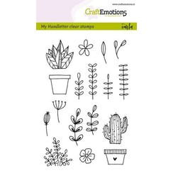 CRE0260 - CraftEmotions clearstamps A6 - handmade floral images Carla Kamphuis