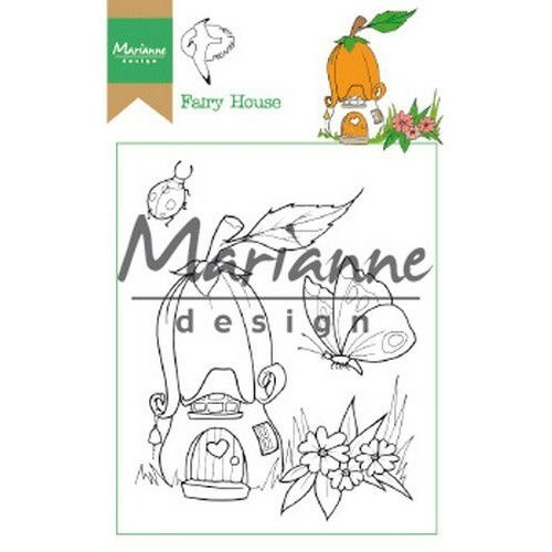 HT1641 - Clear Stamp Hetty's Fairy house