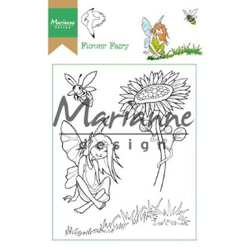 HT1645 - Clear Stamp Hetty's Flower Fairy