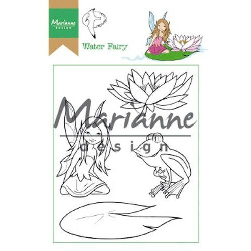 HT1646 - Clear Stamp Hetty's Water Fairy