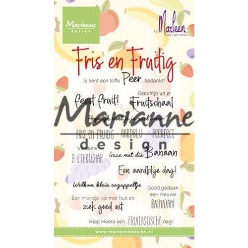 CS1030 - Clear Stamp Marleen's Fris & Fruitig