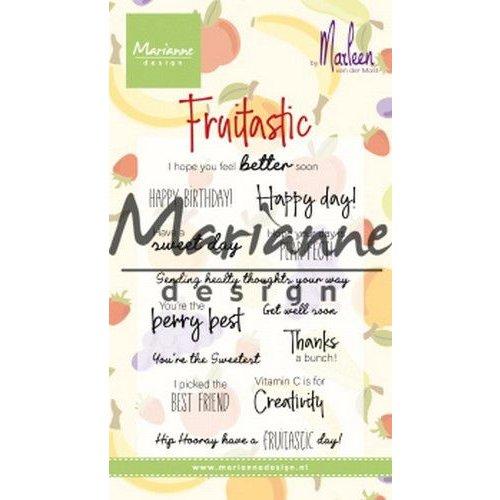 CS1031 - Clear Stamp Marleen's Fruitastic