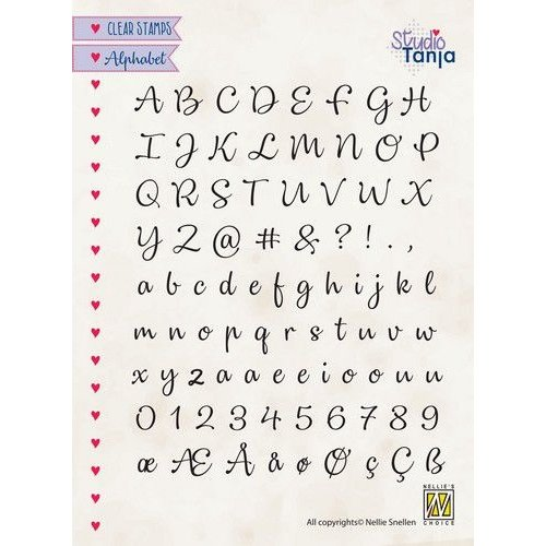 ALCS003 - Clear Stamps, Alphabet Lena-2