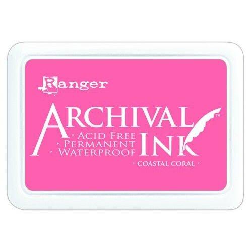 AIP69300 - Ranger Archival Ink pad - Coastal Coral 300
