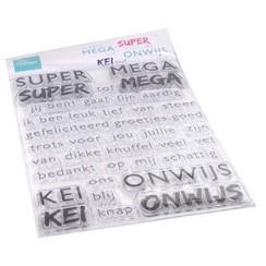 CS1066 - Clear Stamps - SUPER-MEGA-KEI-ONWIJS