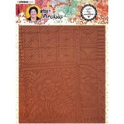 TPBM03 - Art By Marlene Texture Plates Artsy Arabia, nr.03