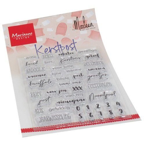 CS1069 - Clear Stamps Kerst Post by Marlen
