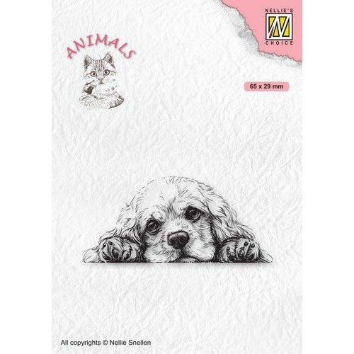 ANI022 - Clear Stamps, Animals Spaniel dog